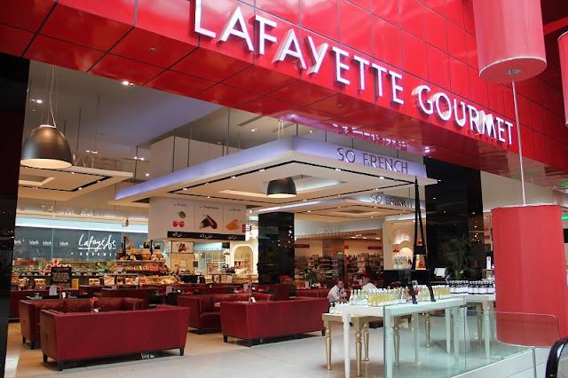 Espaço Gourmet na Galeries Lafayette