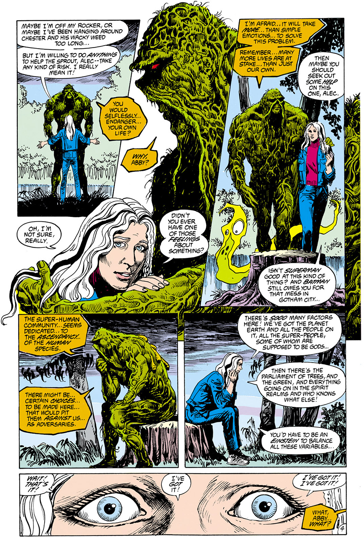 Swamp Thing (1982) Issue #75 #83 - English 5