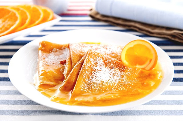 Orange Crepes recipe