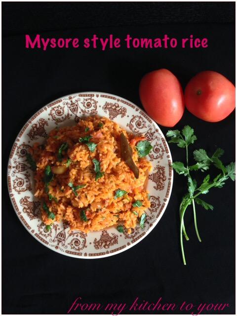 Mysore Style Tomato Rice