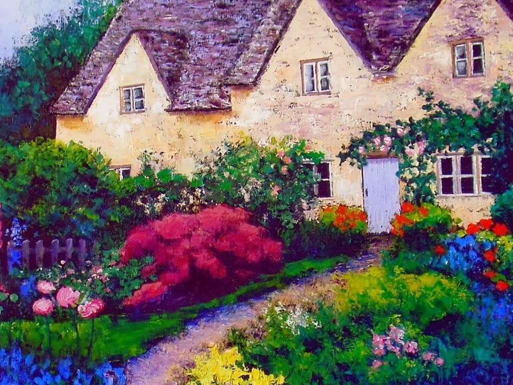 Cottage Gardens: Cottage Garden Wallpaper