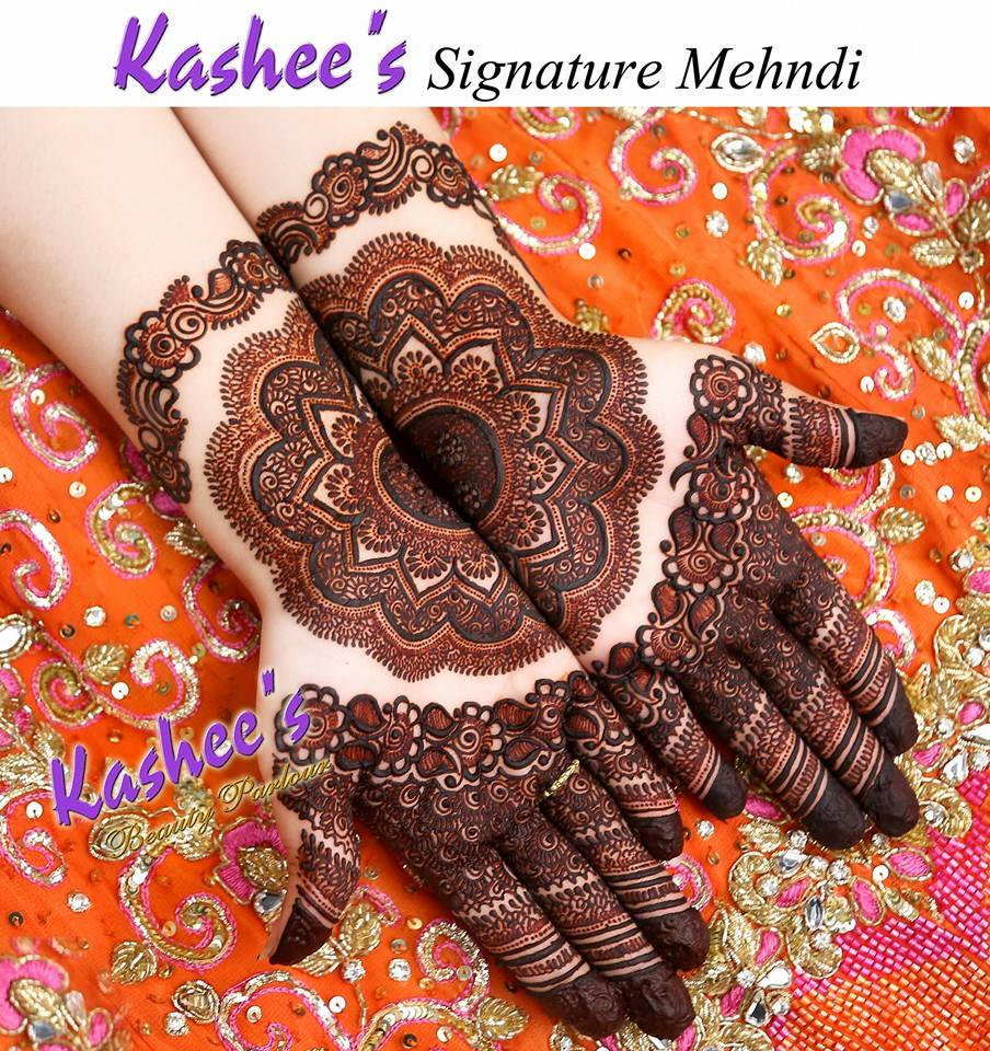 Mehndi Designs Upload : Most beautiful bridal mehndi designs by kashee s just