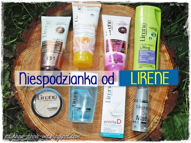 nowości kosmetyczne, kosmetyki Lirene,