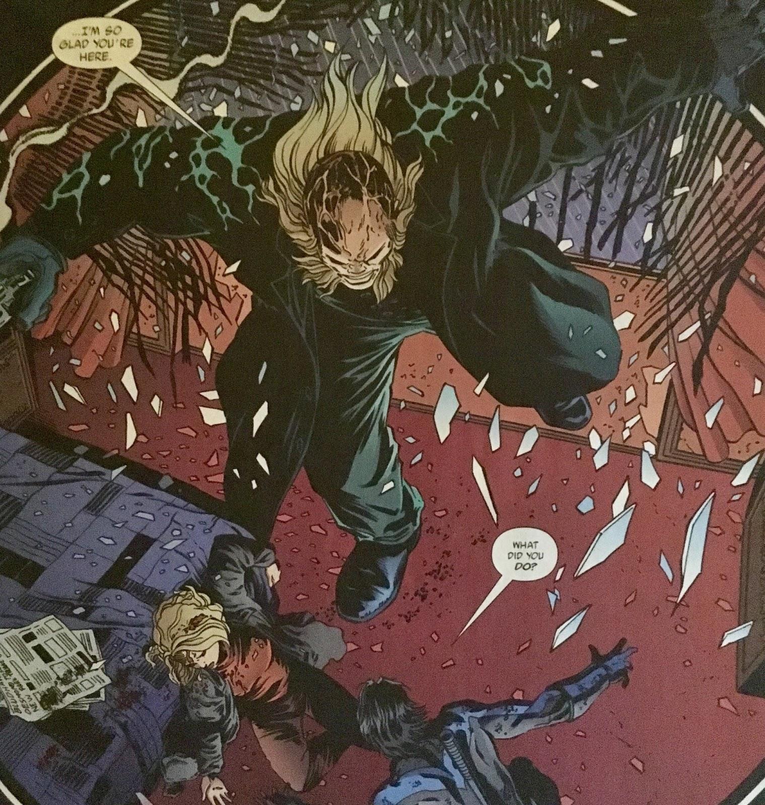 Chris is on Infinite Earths: Nightwing #93 (2004)