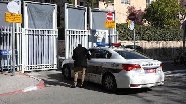 Policía israelí llegó a la residencia de Netanyahu para indagarlo