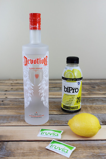 FitGirl Cocktails: The Lemon Drop Ingredients Gluten-Free, 0 sugar, 0 carbs