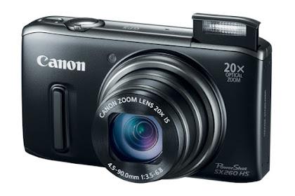 Canon PowerShot SX260 HS Driver Download Windows, Mac