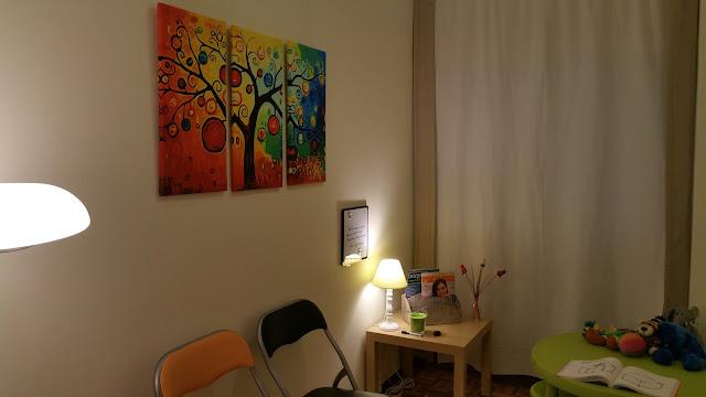 www.lolatorgadecoracion.es zona de espera y niños
