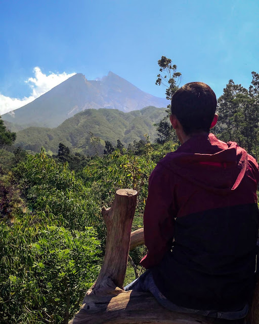 Menikmati Gagahnya Gunung Merapi Dari Bukit Klangon Merapi