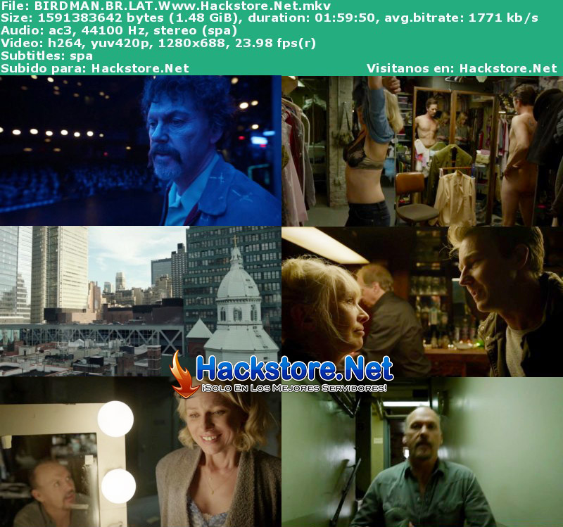 Capturas de Birdman (2014) Blu-Ray RIP HD Latino