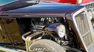 1934 Chevy Hot Rod Engine Cutout