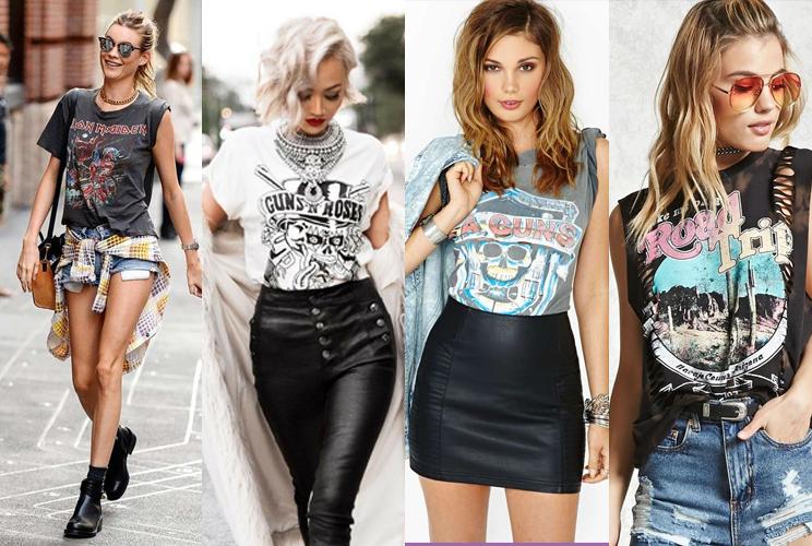 Rocker T-shirts