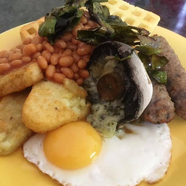I Sea Bacon - the vegan alternative to Bacon - full english breakfast