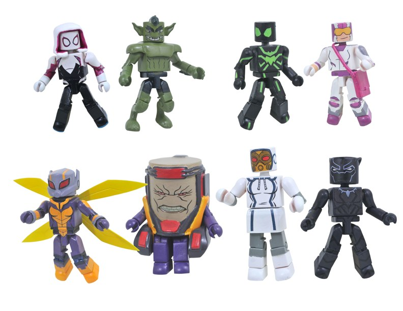 Marvel Animated Minimates Series 8 Revealed Series 7 Now Available