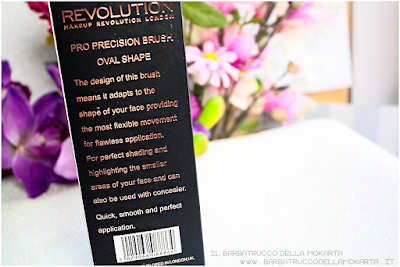 pro precision  oval brush makeup revolution rfecensione contouring correttore