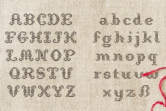 StitchCross Free Download Fonts   Freebies PSD