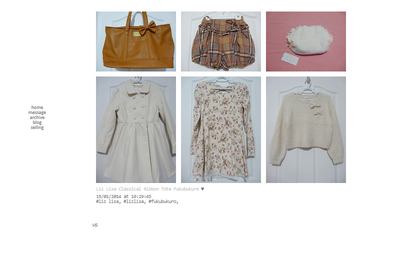 http://tomybluesky.tumblr.com/post/73459411153/liz-lisa-classical-ribbon-tote-fukubukuro