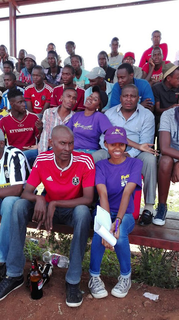 Crowd Soccer Team Sinthumule Kutama Easter Sports Challenge 2016
