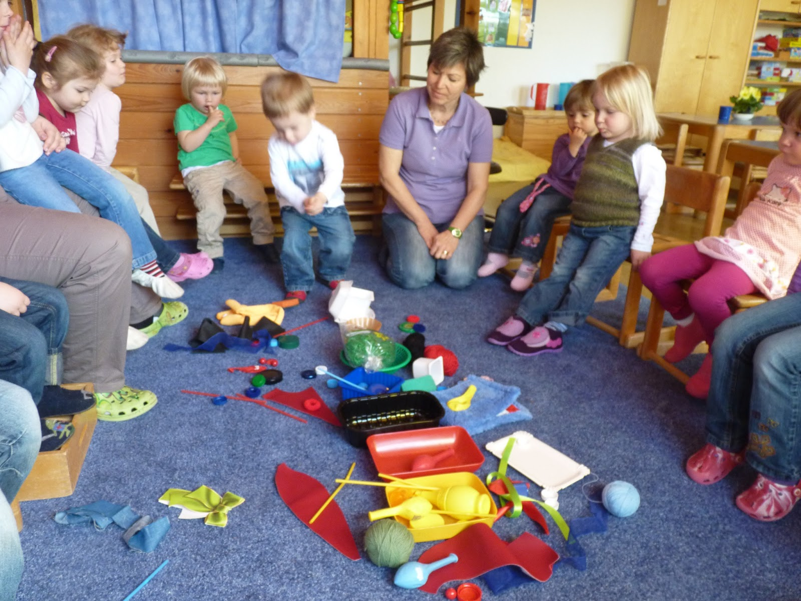 Protestantischer Kindergarten Weisenheim am Sand: Blau ...