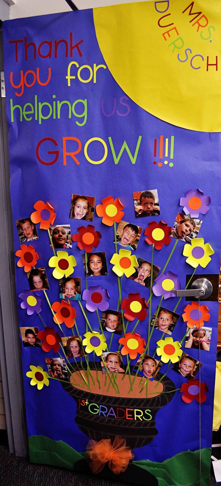 Preschool Door Decoration Ideas For Summer - fall door ...