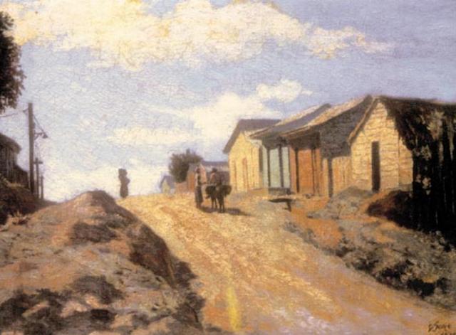 Dario Suro. Landscape. 1935