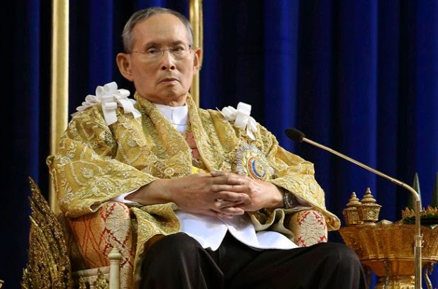 Thailand's 87-year-old king makes rare trip outside hospital