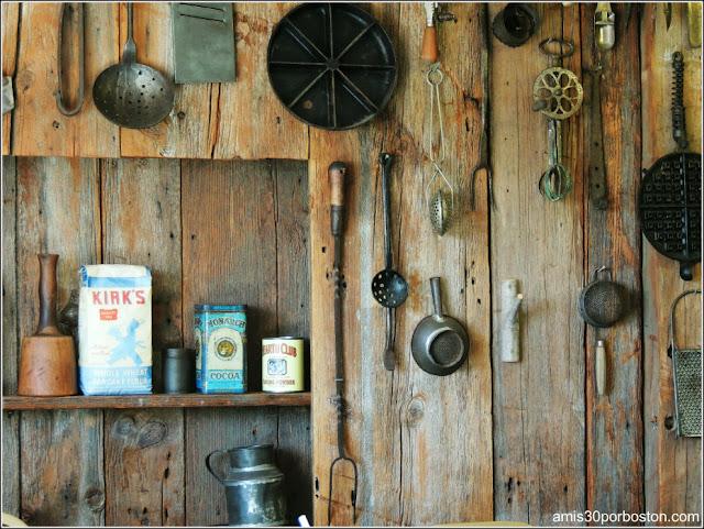 Adornos restaurante granja sirope de arce