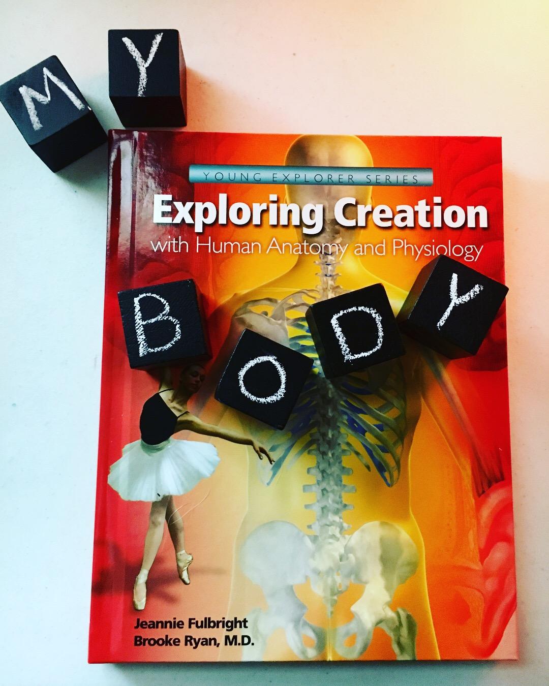 Four Violet Reviews: Apologia Exploring Creation with Human Anatomy ...