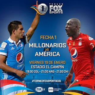 En-vivo-Millonarios-vs-América-Torneo-Fox-Sports