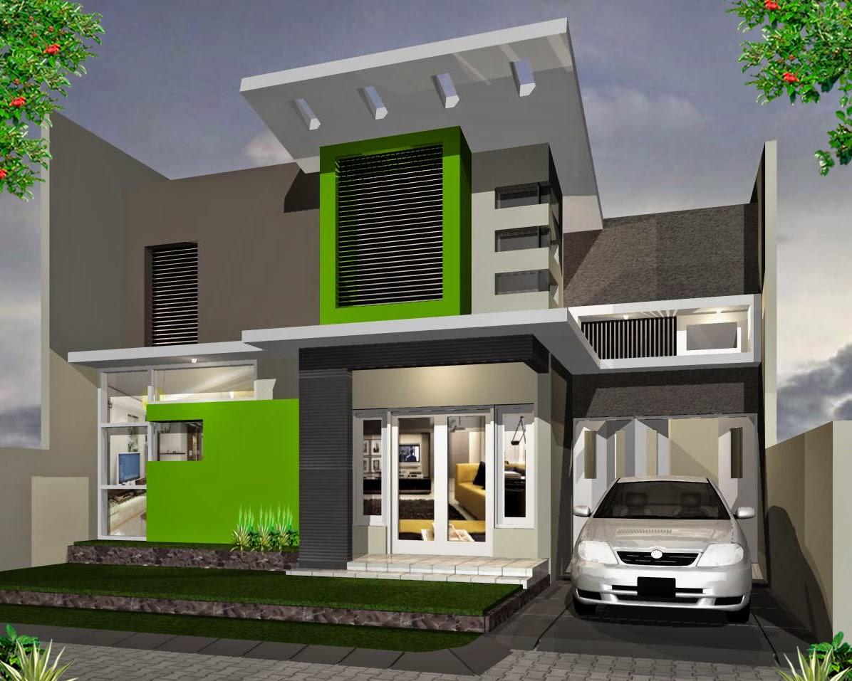 Desain Rumah Minimalis Modern 2 Lantai TERHOT 2016 Info Terbaru 2017