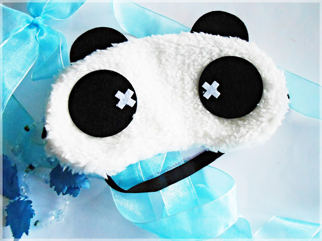 Panda shape eye mask, Cubecrate March 2017 sleeping theme