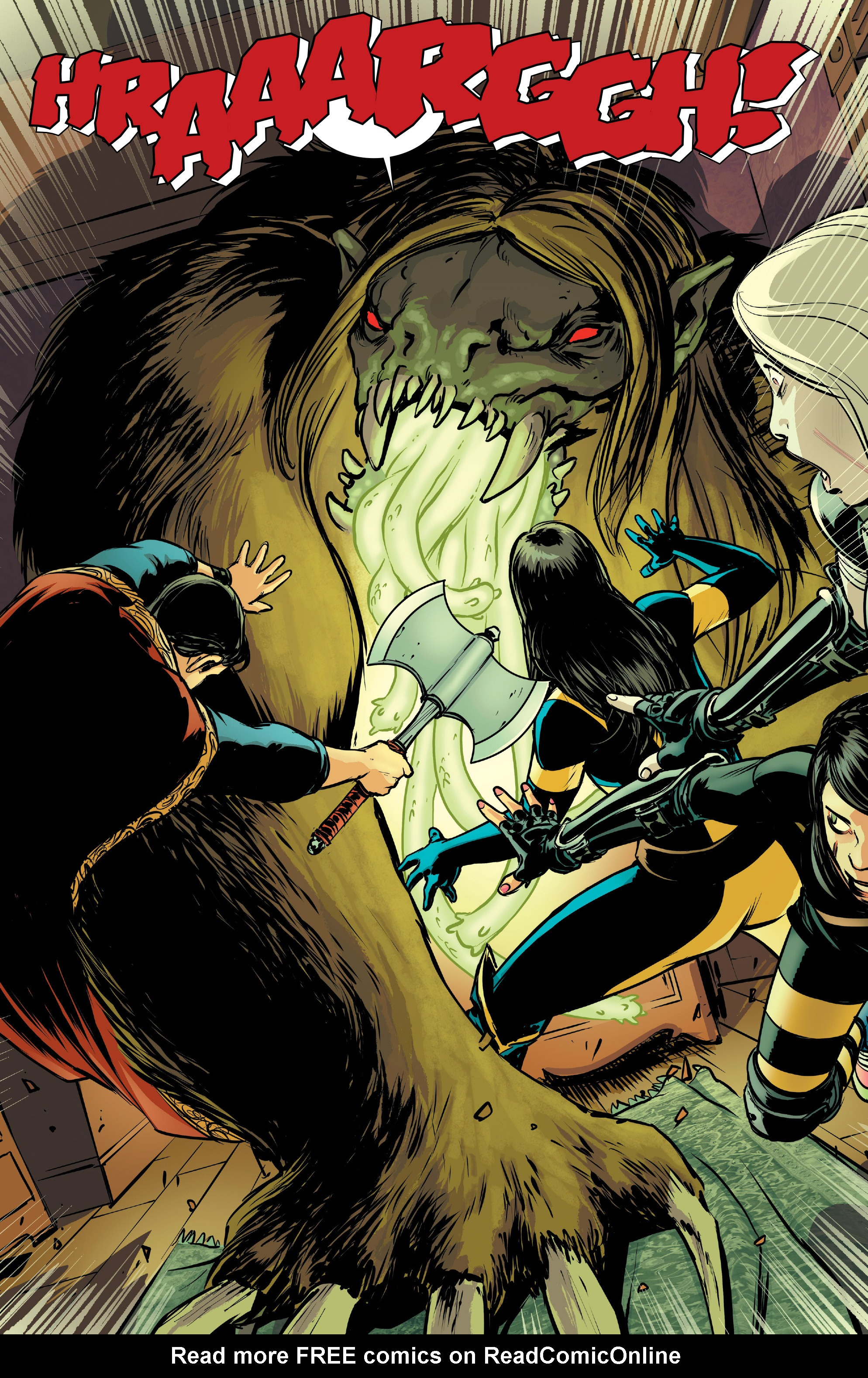 Read online All-New Wolverine (2016) comic -  Issue #4 - 10