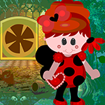 Games4King Lady Beetle Escape Walkthrough