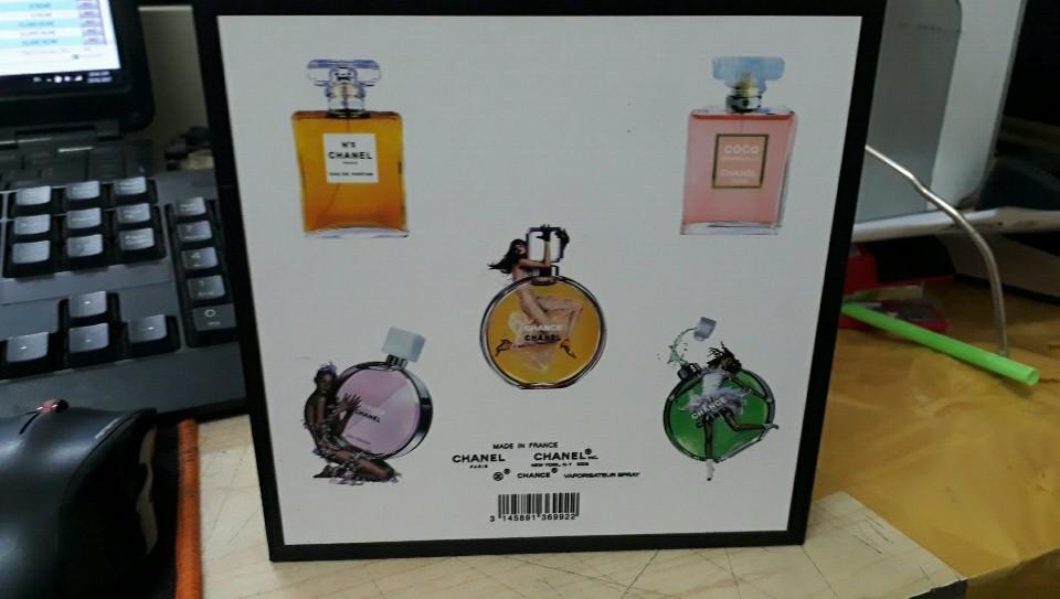 85k - Chanel gỗ 5 chai mini mẫu mới giá sỉ và lẻ rẻ nhất