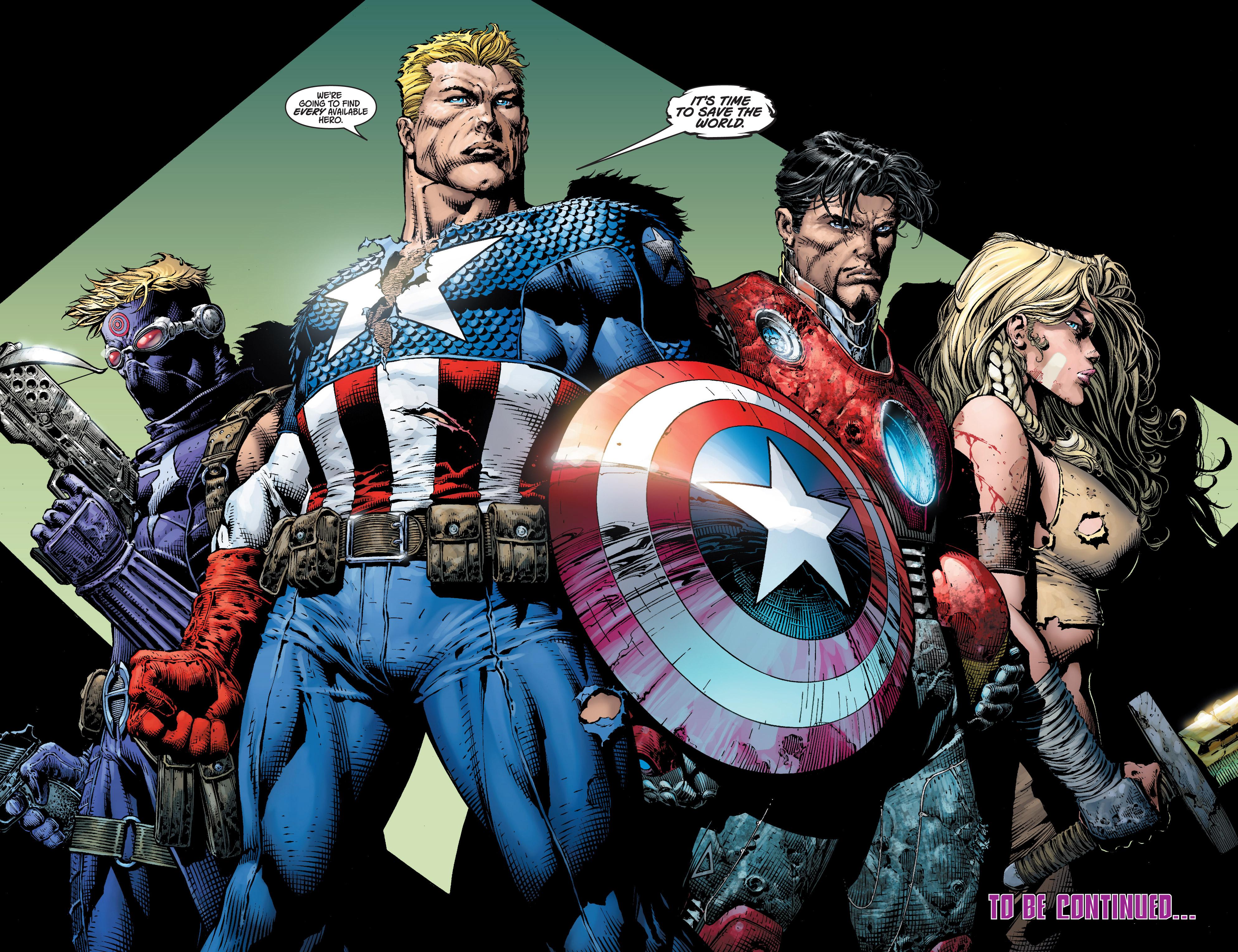Read online Ultimatum comic -  Issue #3 - 21