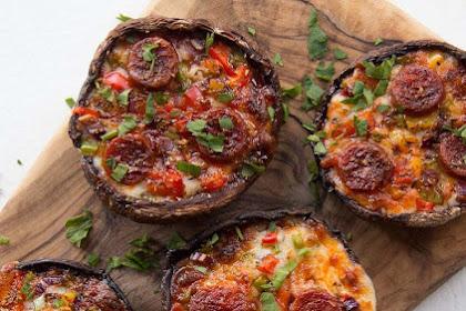 Pìzza Stuffed Portobello Mushrooms Recìpes