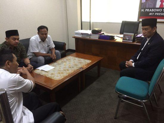 Ketua RT Ditangkap Densus 88, PUSHAMI Sambangi DPR