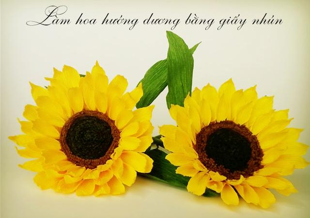 nguyen lieu lam hoa giay nhun o Mai Dich