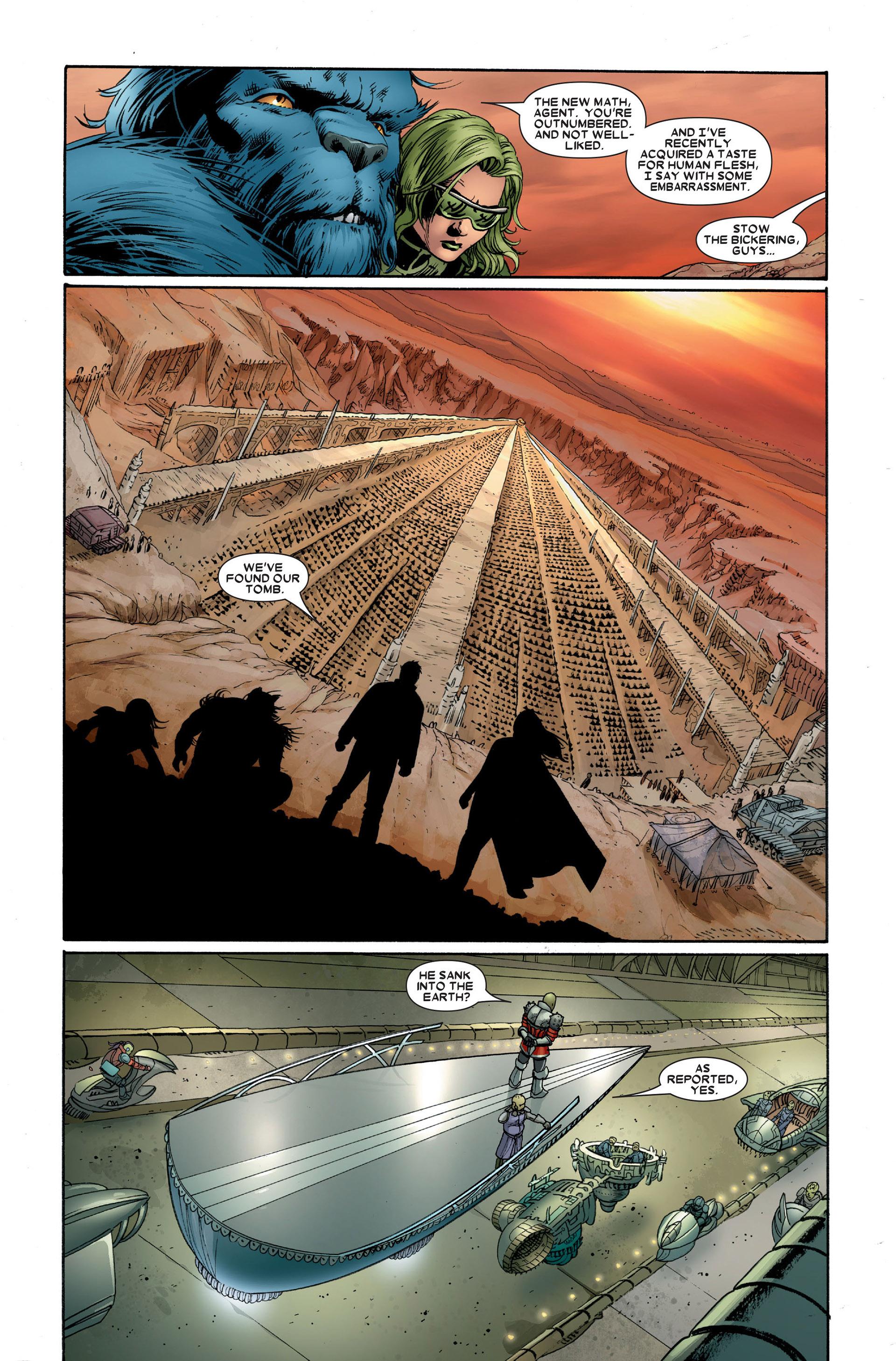 Read online Astonishing X-Men (2004) comic -  Issue #20 - 16
