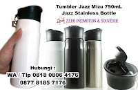 JAZZ BOTOL MINUM, botol untuk Jazz Sports Tumbler tanpa sablon (polos), Jual tumbler Jazz, Tumbler Promosi Jazz, GROSIR TUMBLER JAZZ, Tumbler Jazz Bahan Stainless