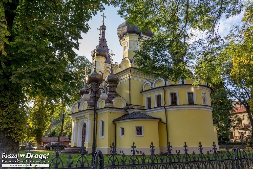Piękna cerkiew z 13 kopułami w Hrubieszowie