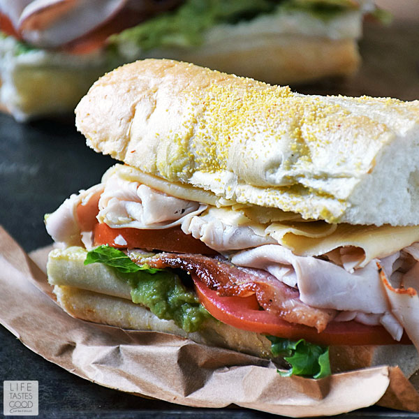 California Club Sandwich Recipe