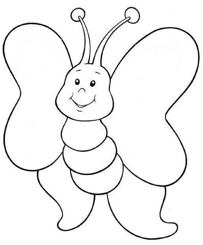 Desenhos De Borboletas Para Colorir Espaco Educar