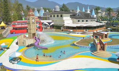 Kolam Renang Big Ben Waterpark Cipanas Cianjur