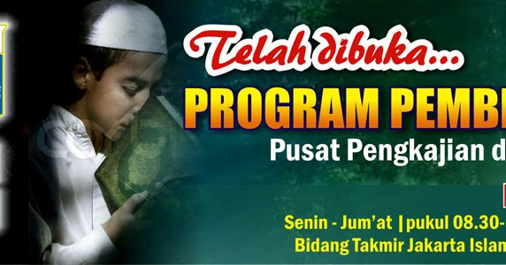 Desain Spanduk Tahfizul Quran Jakarta islamic Centre ...