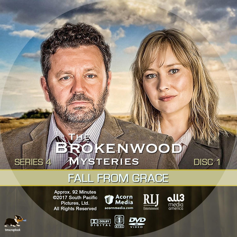 The Brokenwood Mysteries Season 4 Disc 1-4 DVD Label