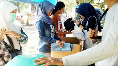 Lulus UN, Pelajar Semarang Donasikan Seragam Sekolah