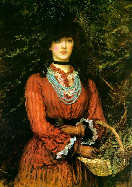 El Trolley De Nieves John Everett Millais Pintor