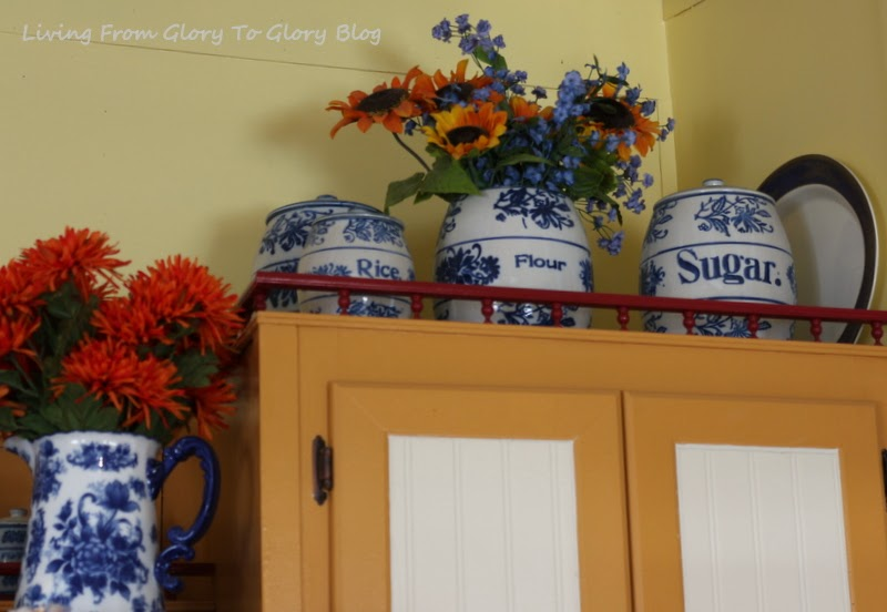 Blue and White Antique Stoneware, Living From Glory To Glory Blog...