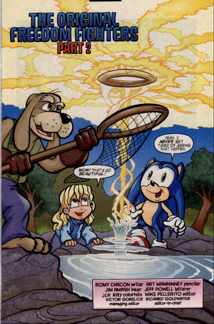 Read online Sonic The Hedgehog comic -  Issue #143 - 4
